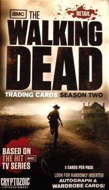 Walking Dead Season 2 Trading Cards Pack