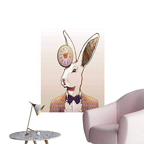 SeptSonne Wall Decorative Clock Rabbit Pictures Wall for sale  Delivered anywhere in USA