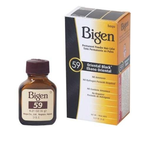 Bigen Black Hair Dye Review