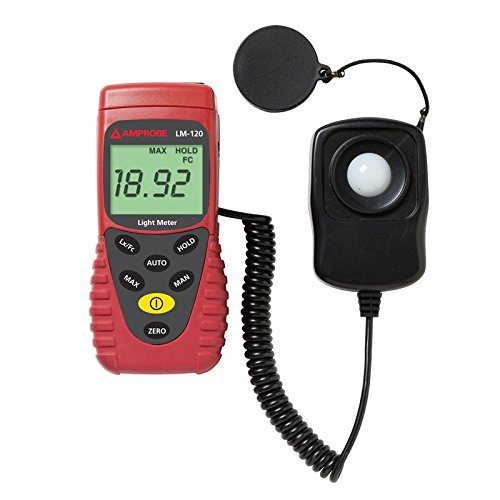 Amprobe LM-100 Light Meter with Silicon Photodiode