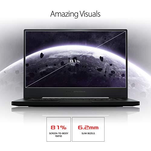 "ASUS ROG Zephyrus S Thin and Portable (2019) Gaming Laptop, 15.6"" 240Hz G-SYNC FHD IPS, GeForce RTX 2070, i7-9750H, 16GB DDR4 RAM, 1TB PCIe Hyper Drive SSD, Per-Key RGB, Windows 10 Pro, GX502GW-XB76"