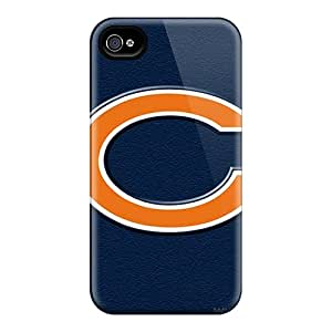 Hot Style FTu1782DZjO Protective Case Cover For Iphone4/4s(chicago Bears)