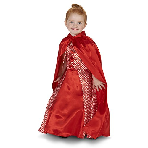 [Red Riding Hood Toddler Costume 2-4T] (Big Bad Wolf Outfit)