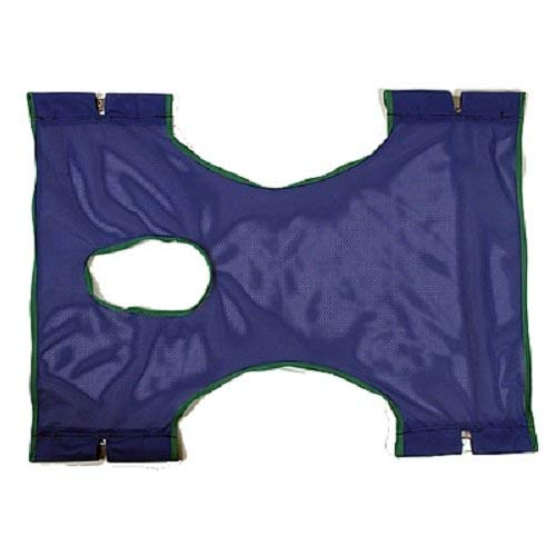 Invacare Standard Sling, Polyester Mesh, with Commode Opening, 9047