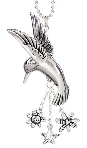 Hummingbird Charm (HUMMINGBIRD Car Charm Ornmament with Dangles)
