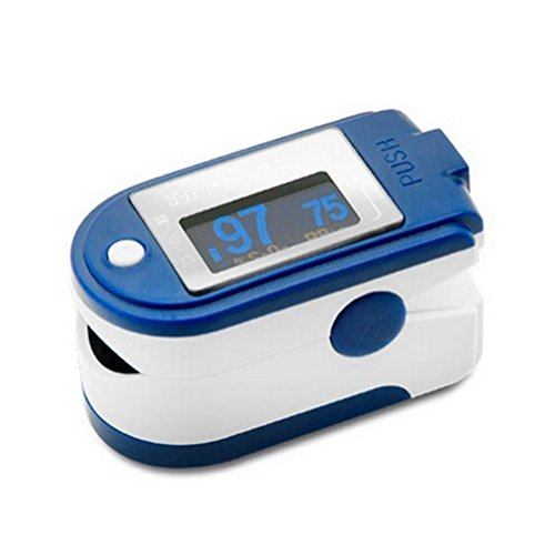 (HUGECARE CMS 50D+ Blue Finger Pulse Oximeter with USB and Sofware)