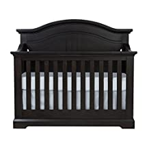 Centennial Chatham Curved Top Lifetime 4-in-1 Crib- Slate