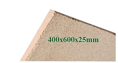 1x25mm Tablero De La Vermiculita Tableros De Protección De Incendios 400x600x25mm Arcilla Refractaria Repuesto: Amazon.es: Bricolaje y herramientas