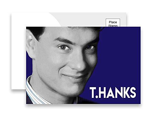 Tom Hanks T.HANKS Thank You Postcards Pack of 10