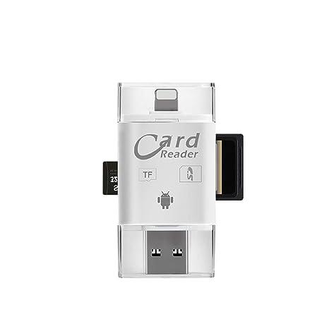 Smile Lector de Tarjetas USB 3.0 para Apple iPhone 6s 7 más ...