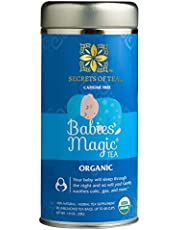 Secrets Of Tea Babies' Magic Tea Colic Reliever, Gas, Acid Reflux Relief -Supports Brain Development In Babies- USDA Organic Caffeine Free Herbal Colic Tea for Babies and Newborns- 20 Count(1 Pack)