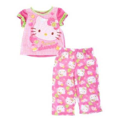 Sanrio Little Girls' Hello Kitty Sleep Set (Pink 2T)
