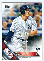Greg Bird baseball card (New York Yankees) 2016 Topps #188 Rookie