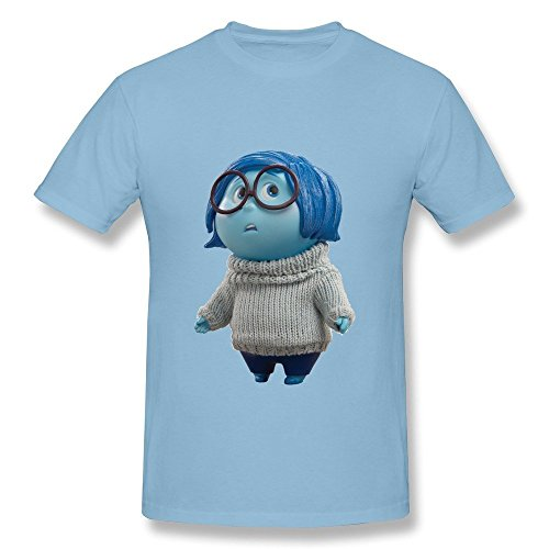 Out Sadness Character T-shirt XS SkyBlue ()