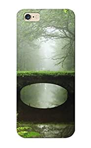 New Arrival Overgrown Bridge In The Foggy Woods IQiOvmz5425pfPIP Case Cover/ 6 Plus Iphone Case