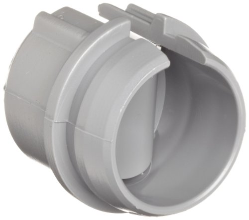 Morris Products Non-Metallic Cable Connector - Snap Style Installation - Labor Saving, For Confined Areas - 1/2 Inch, Single Cable 14/2-10/3 - Two Cables 14/2, 12/2, 14/3 - 100 Count
