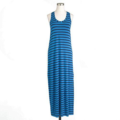j crew blue maxi dress - 1