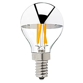 g45 g14 edison led bulb 4w silver tipped led filament light bulb. Black Bedroom Furniture Sets. Home Design Ideas