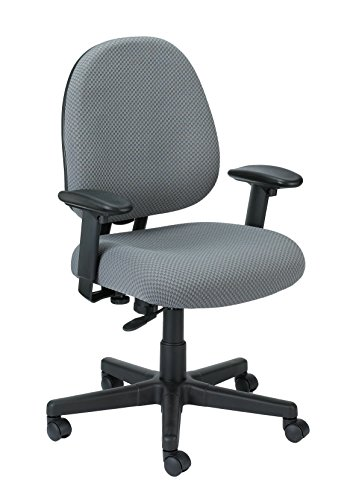 Eurotech Seating Cypher FT2700-GREY Ratchet Back Swivel Chair, Grey