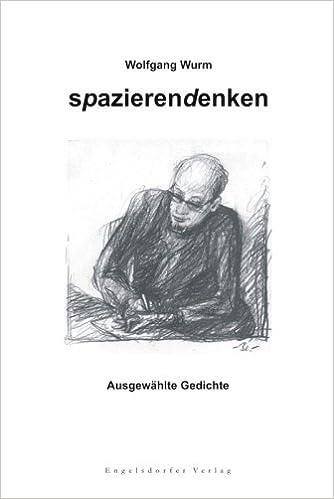 Spazierendenken Ausgewahlte Gedichte Livre En Allemand