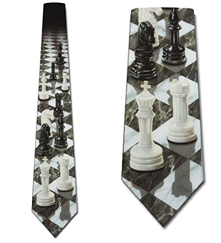 Chess TIES Perspective Neck Tie by Three Rooker