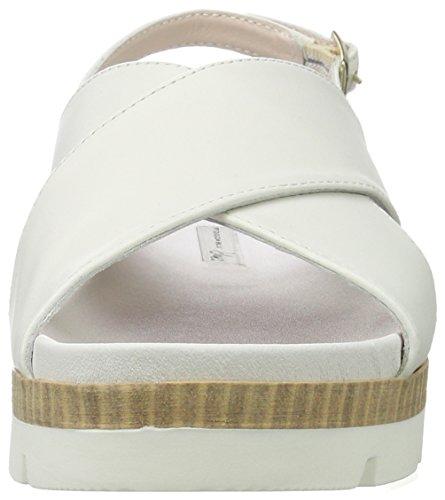 Tosca Blu Mimosa, Sandalias con Plataforma para Mujer Blanco (Bianco)