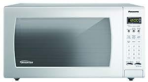 Panasonic NN-SN733W Encimera 45L 1250W Blanco - Microondas (Encimera, 45 L, 1250 W, Tocar, Blanco, Apertura por empuje)