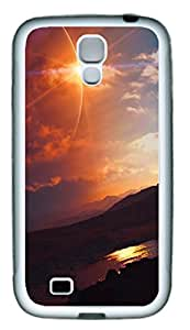 Samsung Galaxy S4 I9500 Cases & Covers - A Sunset Natural Scenery Custom TPU Soft Case Cover Protector for Samsung Galaxy S4 I9500 - White