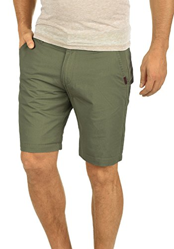 Regular Coupe 3784 solid Coton Dusty Oliv Pantalon Court Pour 100 Homme Thement Bermuda Chino Short vvFP4q