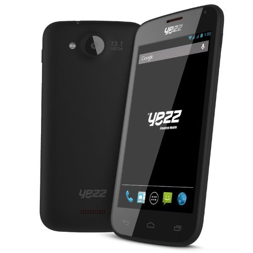 Andy A4.5 - Factory Unlocked Phone - Yezz Wireless (Black)
