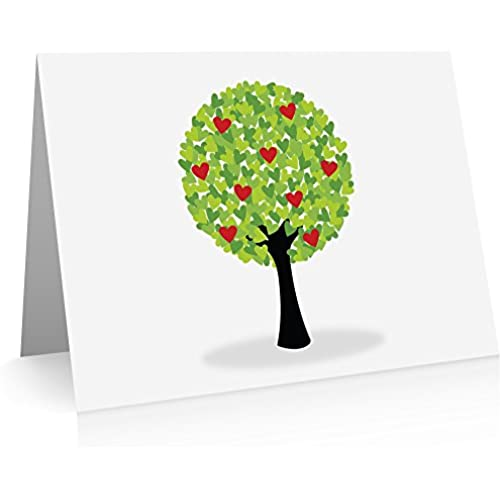 Tree of Love Greeting Card (24 Fold-over Cards and Envelopes) Sales