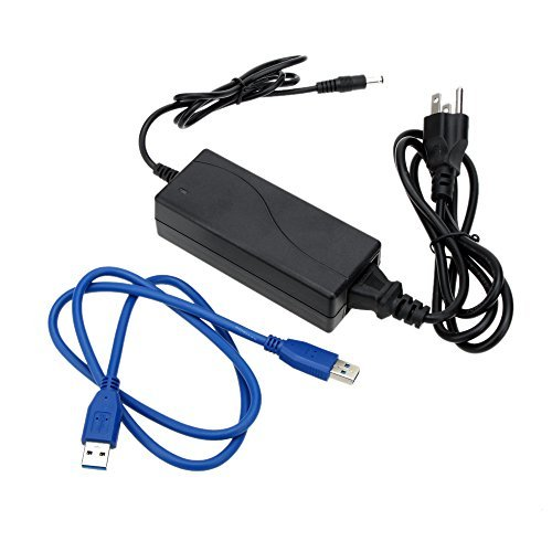 KKmoon SATA USB 3.0 / 2.0 Dock Station US Plug All in 1 HDD Docking Dual Double 2.5''/3.5'' IDE by KKmoon (Image #2)