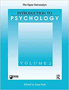 Amazon.com: Introduction To Psychology (Open University's ...