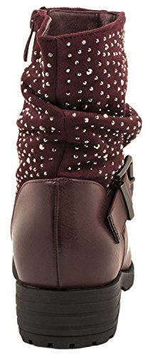 Elara Women's Boots red red Red rRiBz