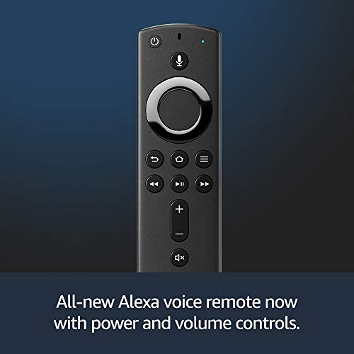 Fire TV Stick 4K with all-new Alexa Voice Remote, streaming media player
