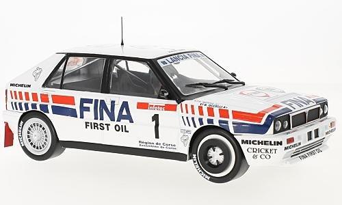 Modellauto Tour de Corse 1991 Fertigmodell No.1 Fina Lancia Delta Integrale 16V Solido 1:18