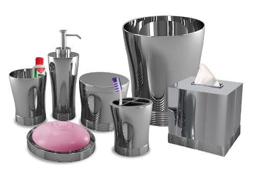 Nu Steel Bathroom Accessories Set ,7-Piece by nu steel