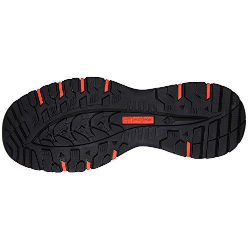Helly Chelsea Hansen Safety orange Noir Boots Evolution Fabric Mid Mens Workwear wrUqdEw