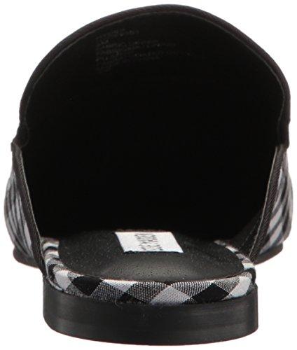 Steve Madden Womens Hyde Loafer Flat Black Gingham 254mTih