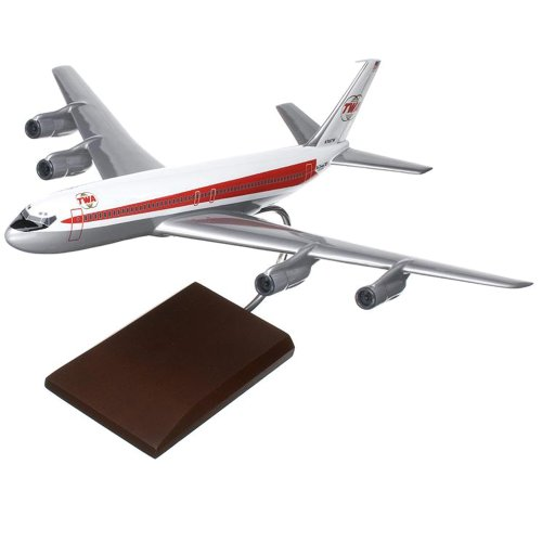 Mastercraft Collection Boeing TWA B707-320 Model Scale:1/100