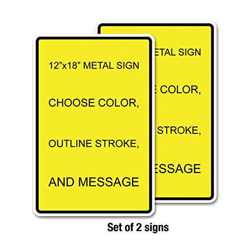 Custom Metal Sign 12