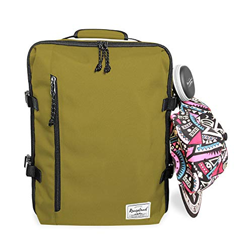 654d7a1a7a29 Rangeland Travel Backpack New 2019 21L Carry-on Daypack Fits 15-inch ...