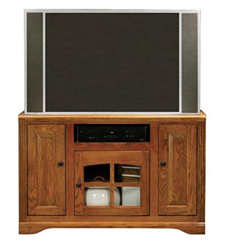 "Eagle Oak Ridge Thin Corner Entertainment Console, 45"", Unfinished"