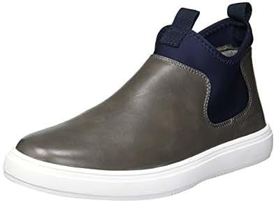 Hawke & Co Men's Jack Sneaker, Grey/Navy, 8 M US