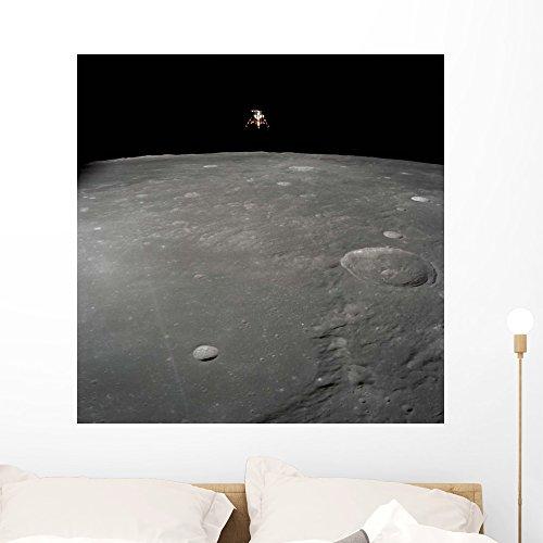 Apollo 12 Lunar Module Wall Mural by Wallmonkeys Peel and Stick Graphic (36 in H x 36 in W) (Lunar Module Spacecraft)