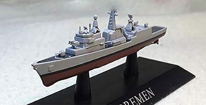GERMAN BREMEN 1//1250 diecast model ship  DEAGOSTINI Battle ship