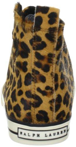 Polo Ralph Lauren Sag Harbour Hi 98710 Mädchen Sneaker Mehrfarbig (Leopard)