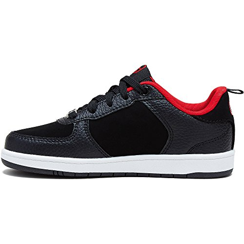 And1 Boys Select Niedriger Basketball Schwarz & Rot Schuh