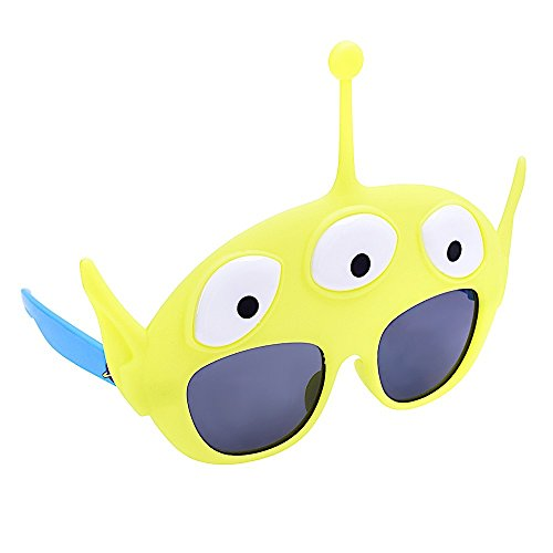 Sunstaches Disneys Toy Story Little Green Man Character Sunglasses, Instant Costume, Party Favors, UV400