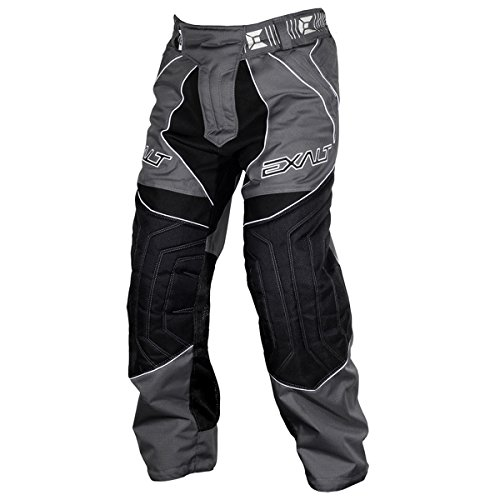 Exalt Paintball T4 Pants - Charcoal - Large (Paintball Professional Pants)